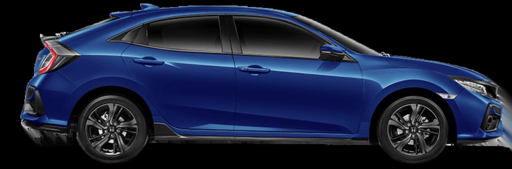 Honda Civic hatcback Blue
